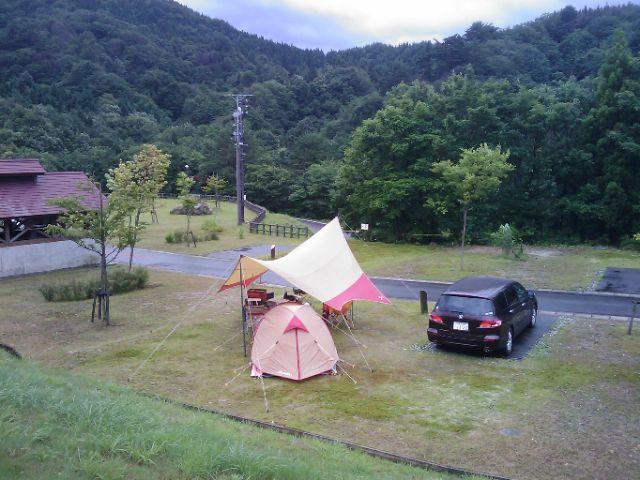 山キャンプ(大石オートキャンプ場)