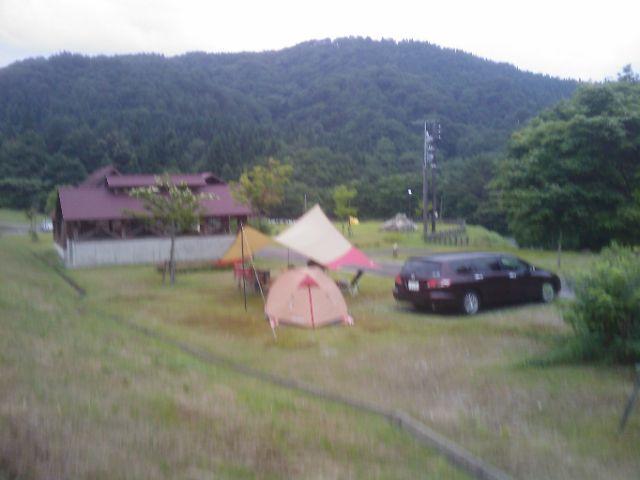 第三段 大石オートキャンプ場