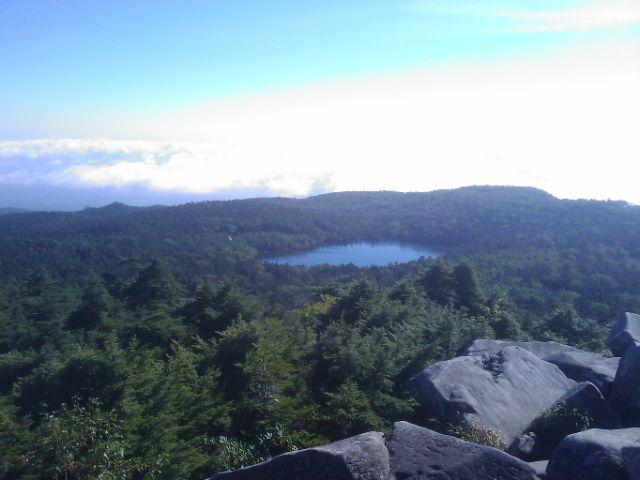天狗岳登山と駒出池