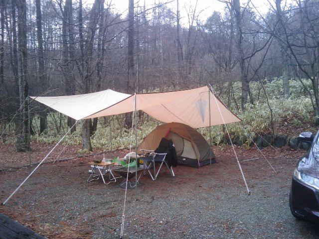 ソロキャンプ in 清里