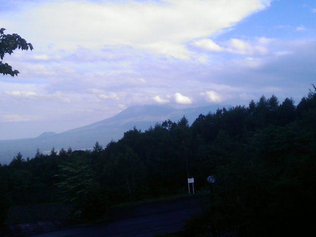 涼しすぎる。嬬恋高原